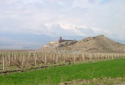 Das Kloster Khor Virap in Armenien