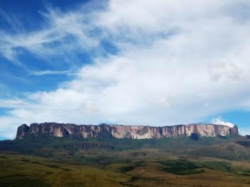 Trekking auf den höchsten Tafelberg der Welt