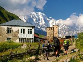Wanderparadies im Kaukasus