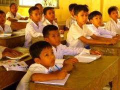 Eine Englischschule für 800 Kinder in Prasat