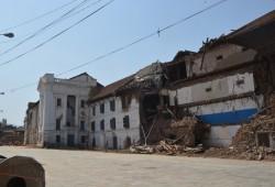 Der Palast auf dem Durbar-Platz in Kathmandu