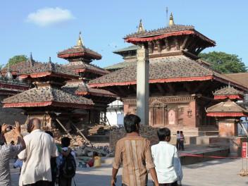 Mit der Kamera durch die Straßen Kathmandus