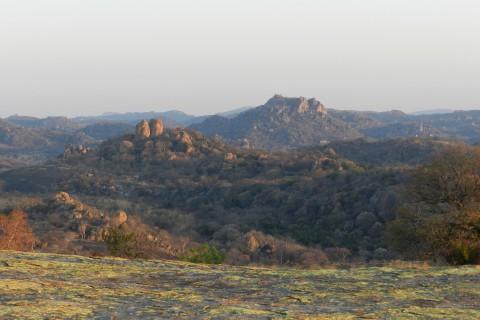 Im Matobo-Nationalpark machten die Tiere sich rar, dafür war die Landschaft atemberaubend.