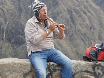 Die Geschichte vom flötenden Peruaner
