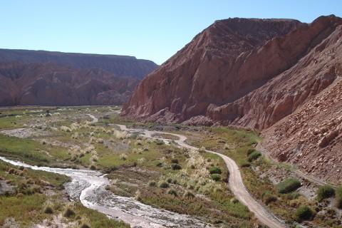 Der Rio San Pedro ist die Lebensader vieler Oasendörfer in der Atacama-Wüste.