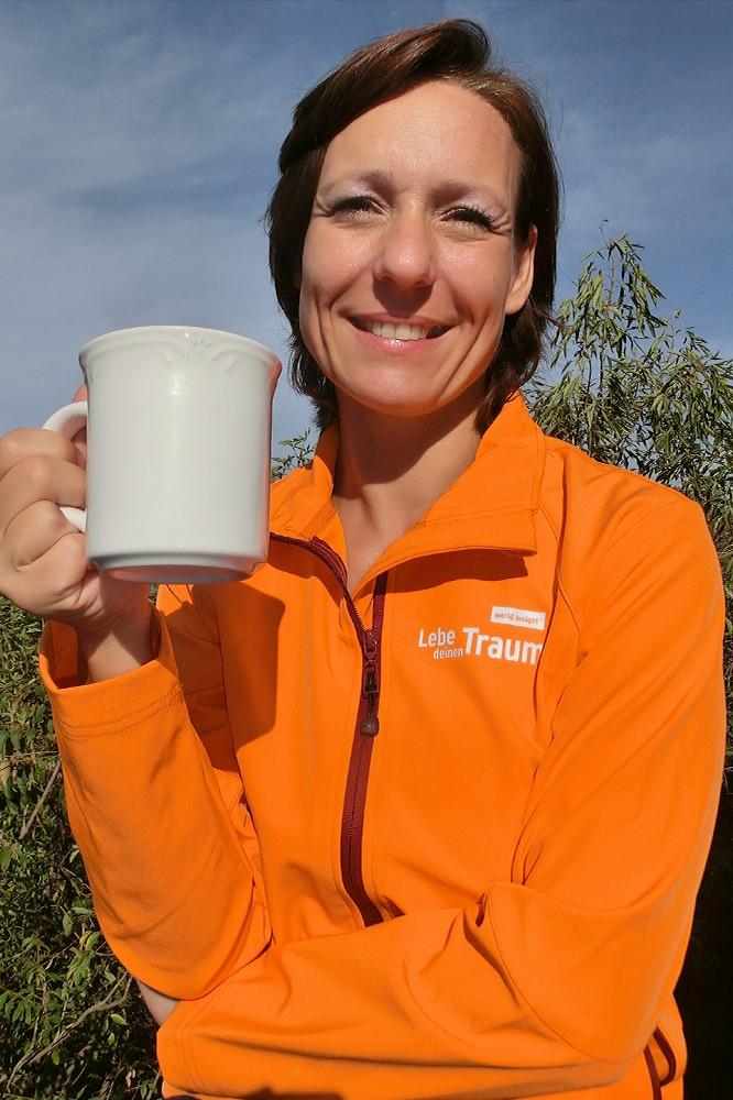 Stets gut gelaunt und reiselustig: unsere Country Managerin Heike Hollwitz.