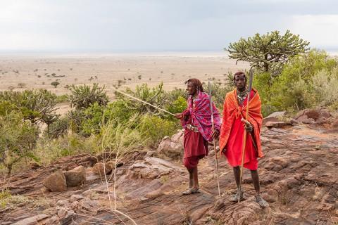 Die Weite der Masai Mara ist gigantisch, selbst für die dort lebenden Masai.