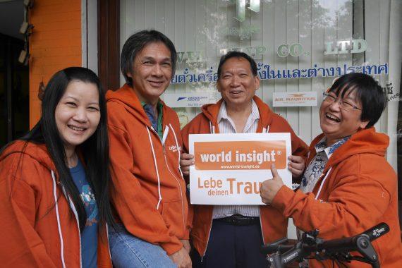 Unser Team in Thailand