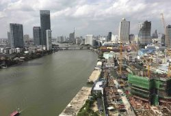 Faszinierende Metropole Bangkok - Blick auf den Menam Chao Praya Fluss