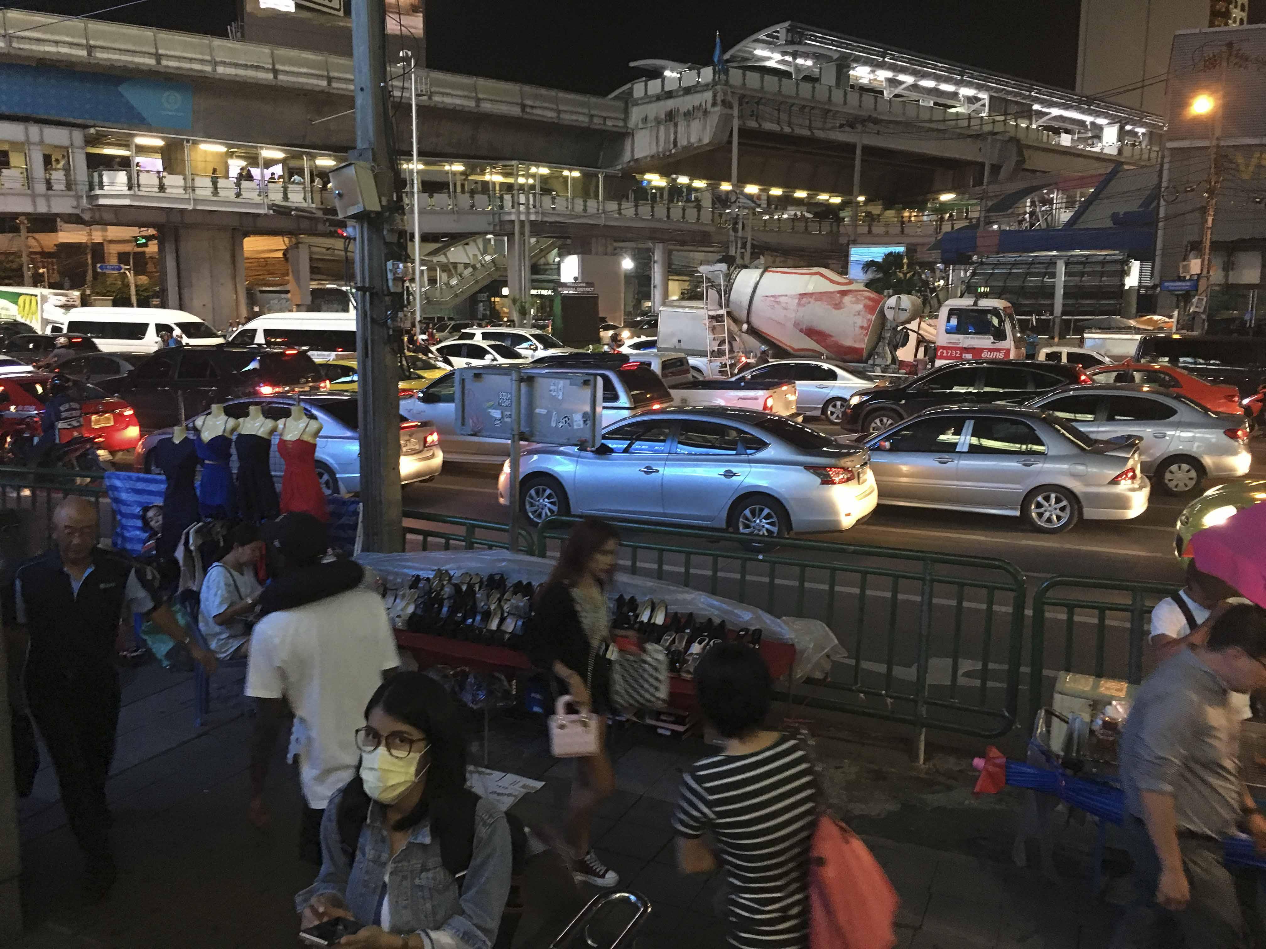 Kein Vergnügen, um von A nach B zu kommen - Bangkok zur Rushhour