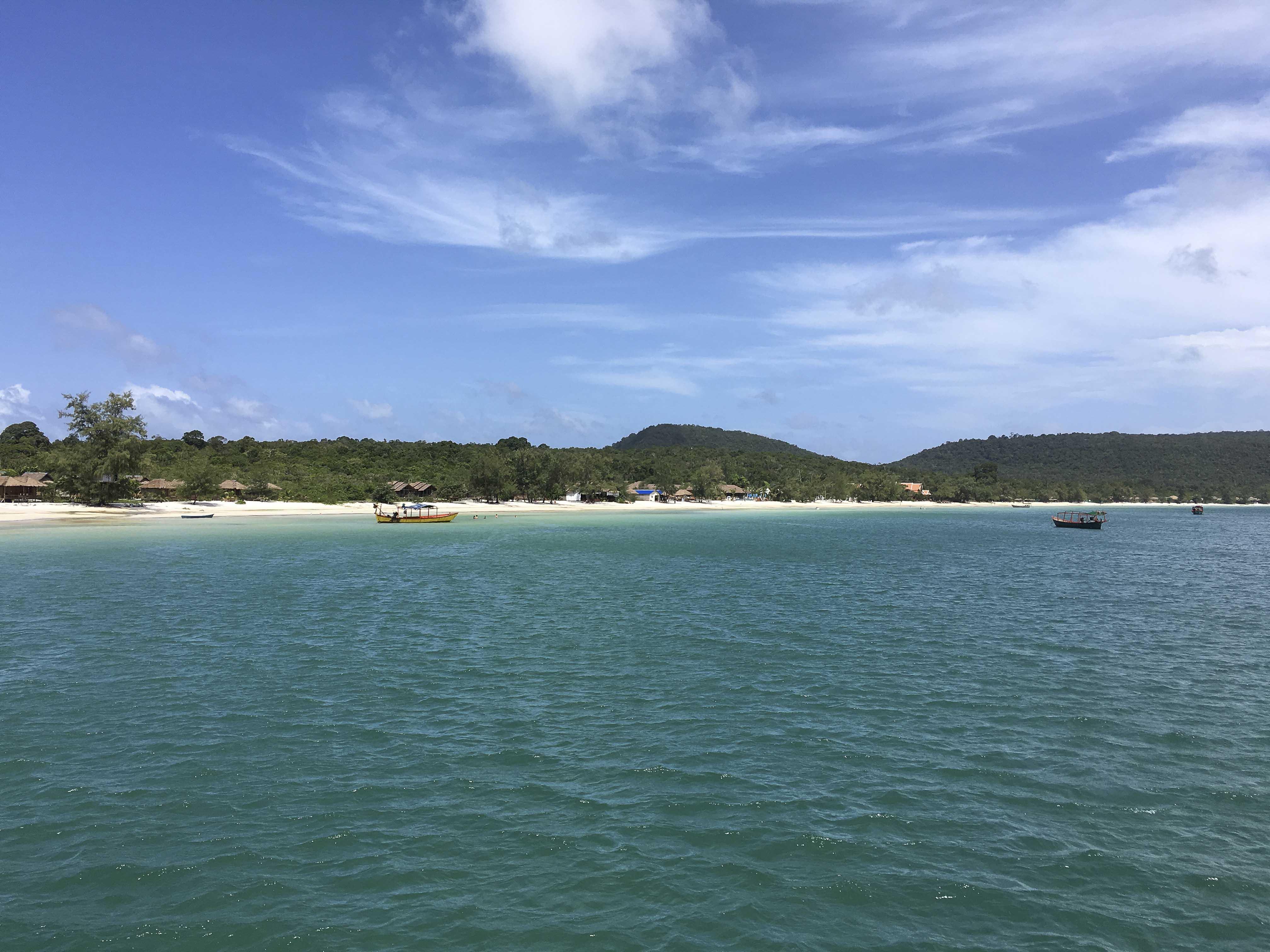 Schön und entspannt - die Insel Rong Samlem
