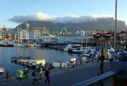 Die Victoria & Alfred Waterfront in Südafrika