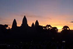 Sonnenaufgang Angkor