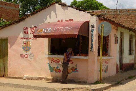 Kiosk in Kuba