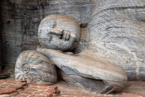 Buddhastatuen von Gal Vihara