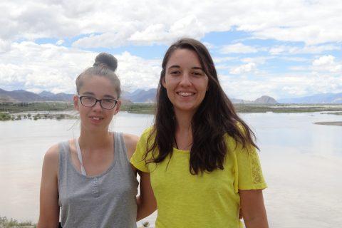 Monique und Nathalie Halm