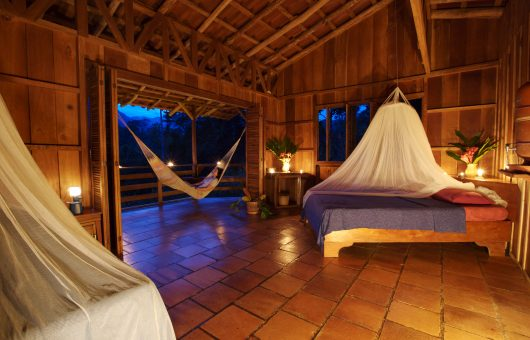 Sinne schärfen in der Dschungel-Lodge