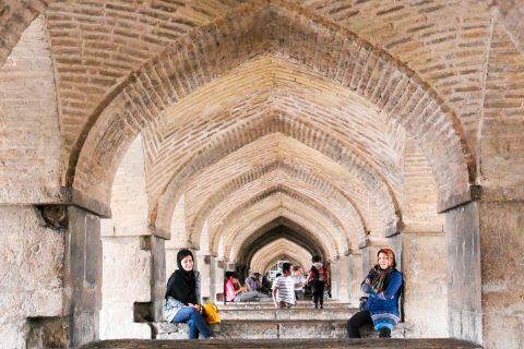 Die 33-Bogen-Brücke in Isfahan