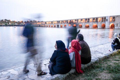 Isfahan Bogen-Brücke