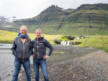 Island vor dem Start