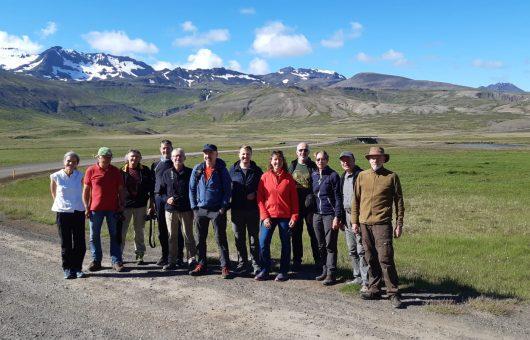 Unsere erste Gruppe ist unterwegs in Island!