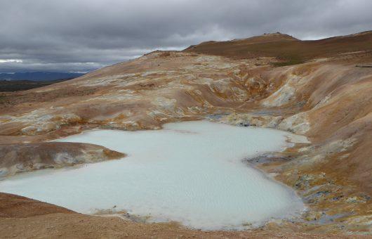Island wie vor einer Ewigkeit