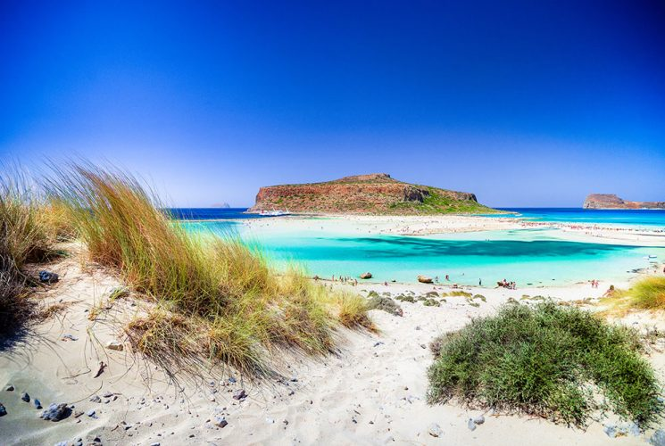 Sandtrand von Balos